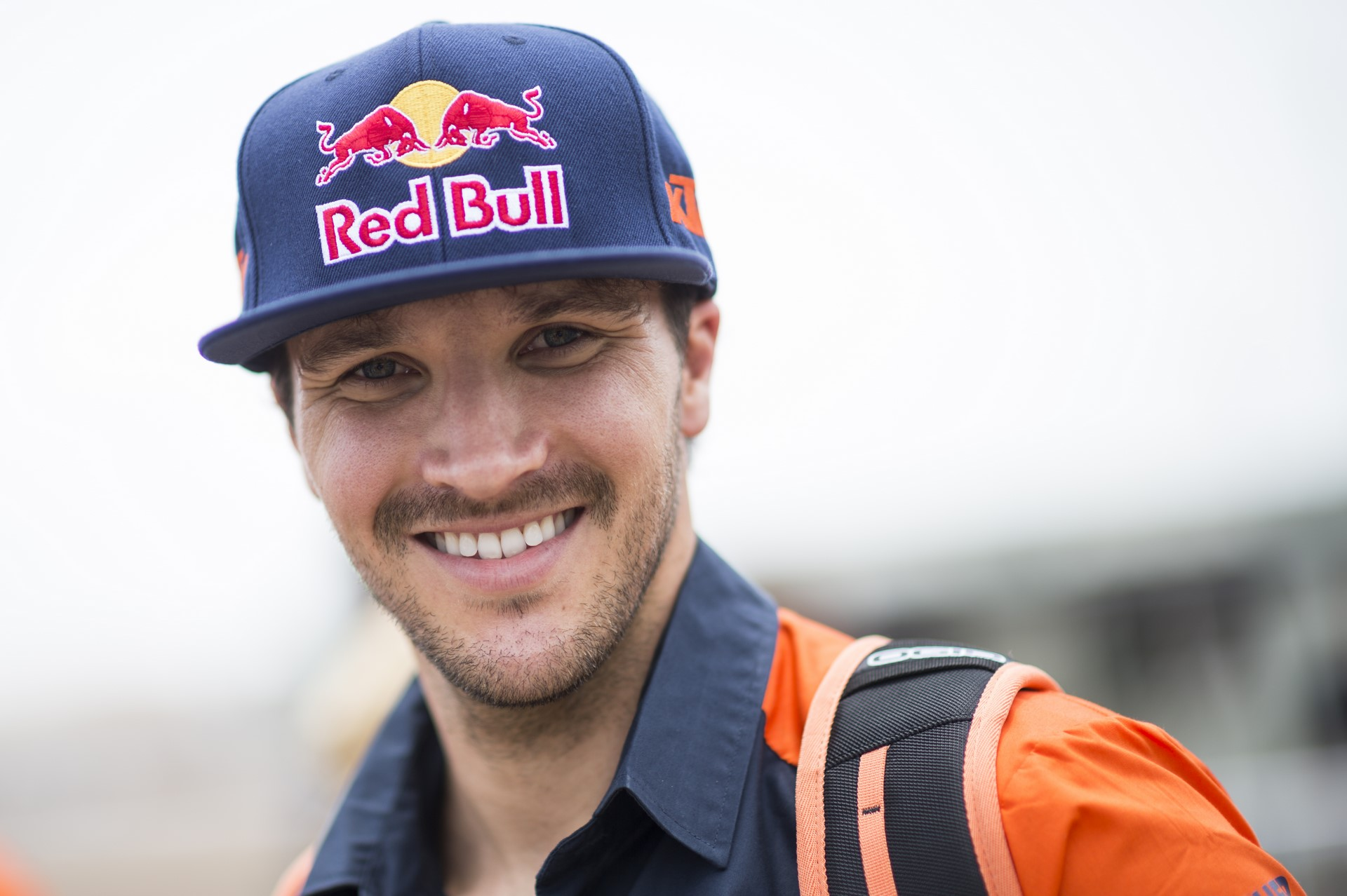 Sam Sunderland (GRB) of Red Bull KTM Factory Team is seen at the technical verifications prior Rally Dakar 2018 in Lima, Peru on January 5, 2018