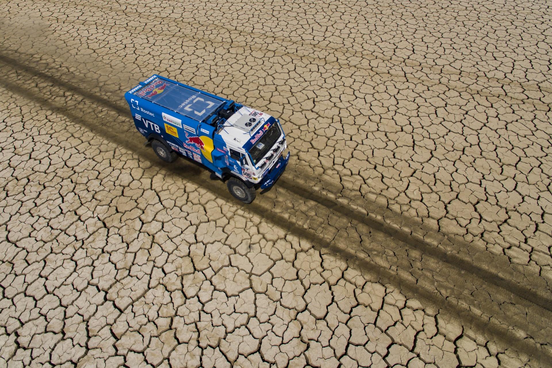 Eduard Nikolaev (RUS) of Team KAMAZ-Master races during stage 03 of Rally Dakar 2018 from Pisco to Marcona, Peru on January 8, 2018