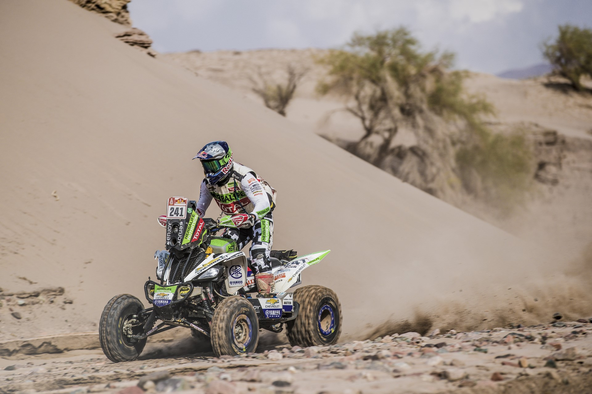Ignacio Casale (CHL) of Casale Racing races during stage 11 of Rally Dakar 2018 from Belen to Chilecito, Argentina on January 17, 2018.