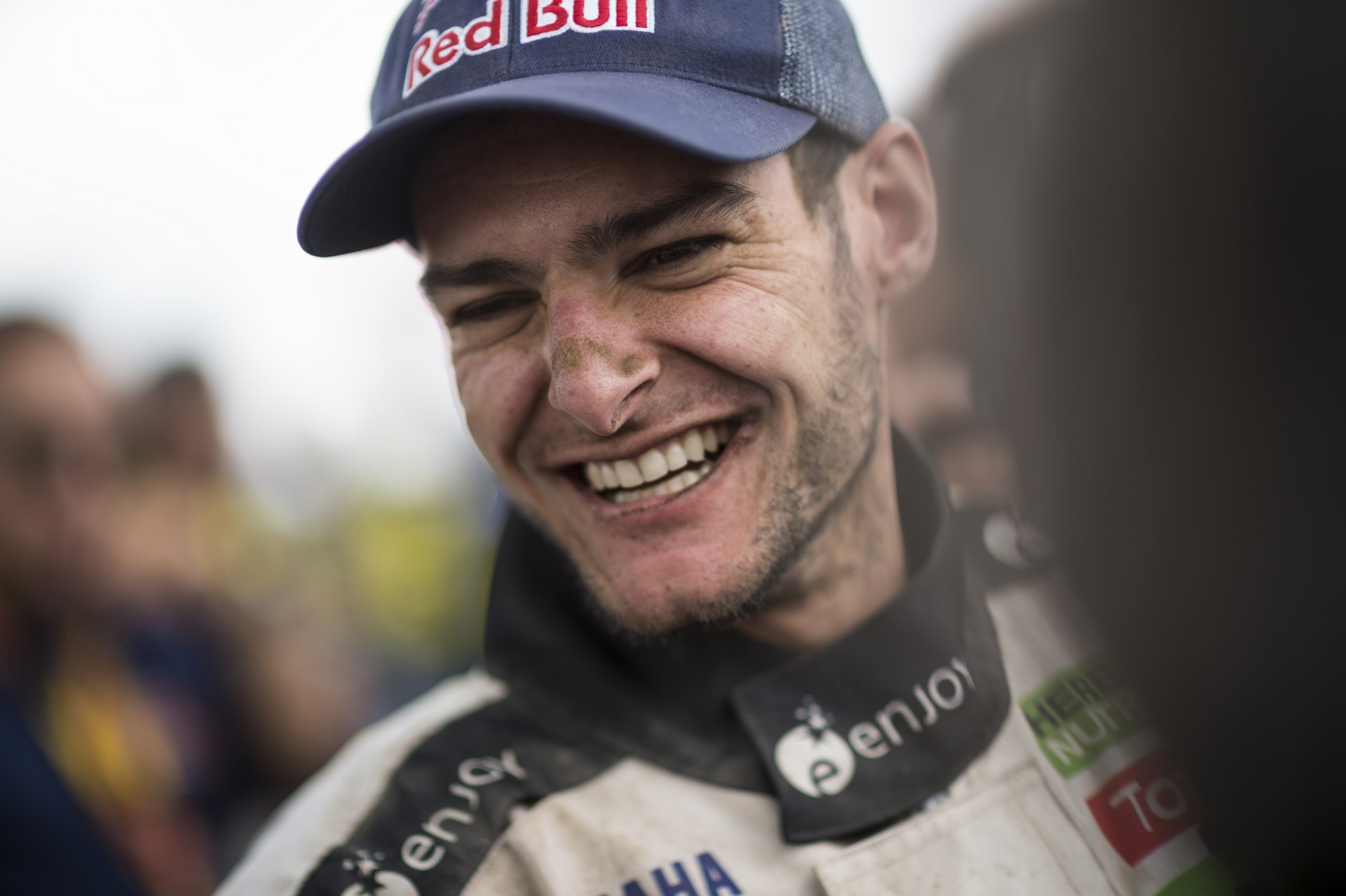 Ignacio Casale (CHL) of Casale Motorsport is seen at the finish line of Rally Dakar 2018 in Cordoba, Argentina on January 20, 2018
