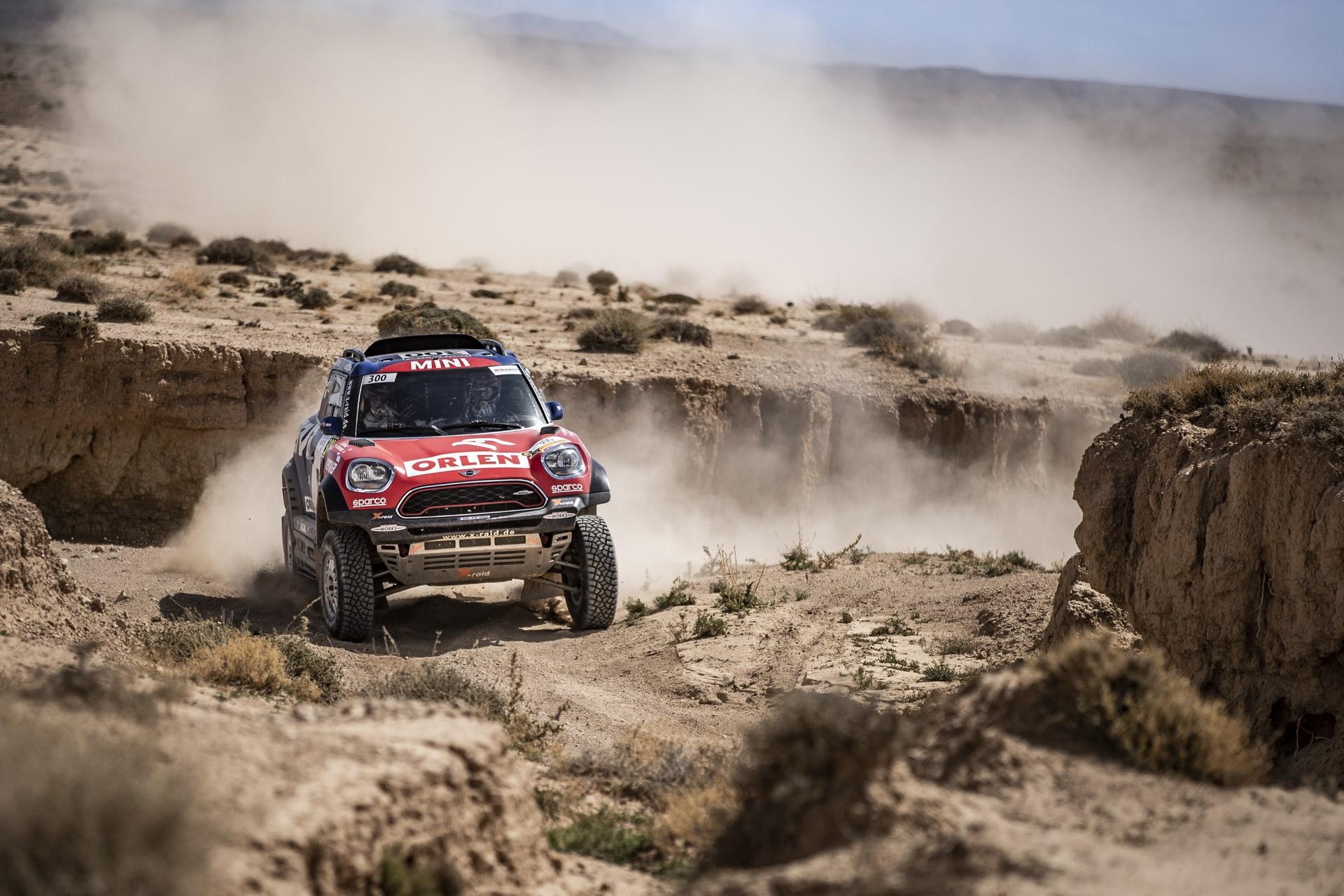Jakub Przygonskiat the 1st stage of Rally Du Maroc in Fez, Morocco on October 05, 2018