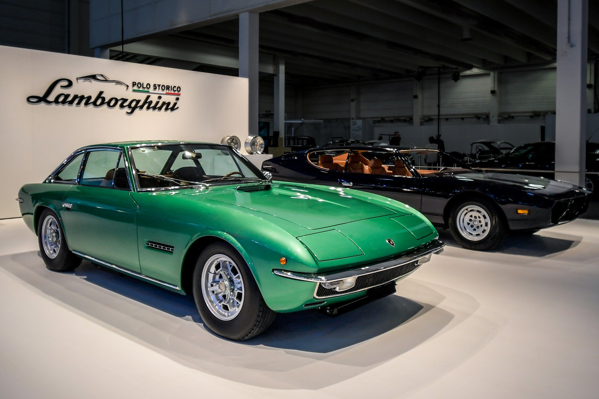 Restored Lamborghini Islero and Espada (1)