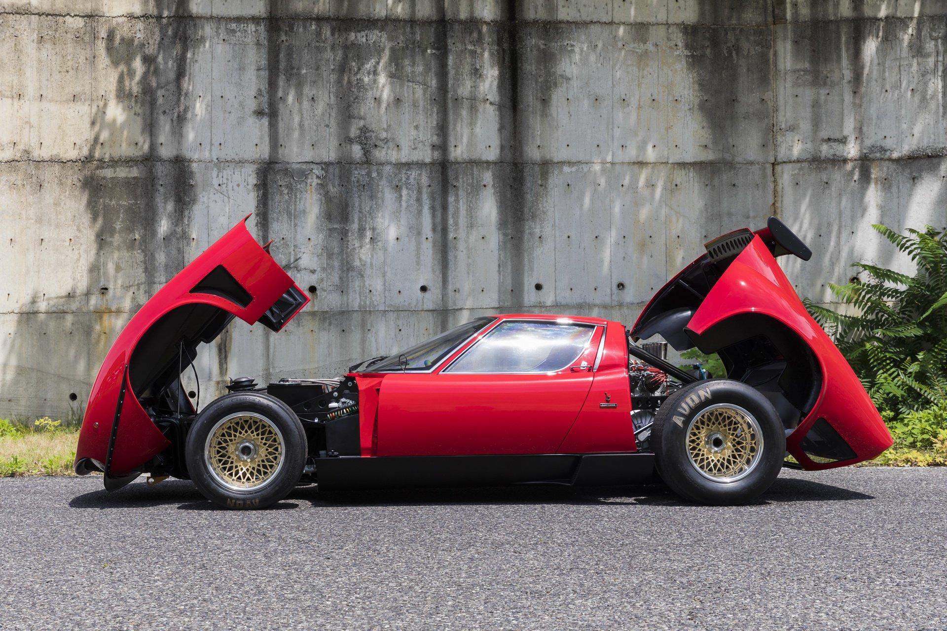 Restored Lamborghini Miura SVR (8)