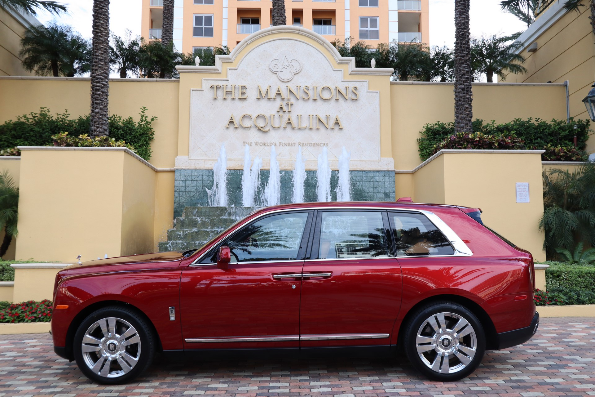 Rolls-Royce At Mansions At Acqualina