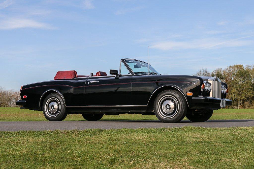 Rolls-Royce Corniche Convertible Frank Sinatra auction (2)