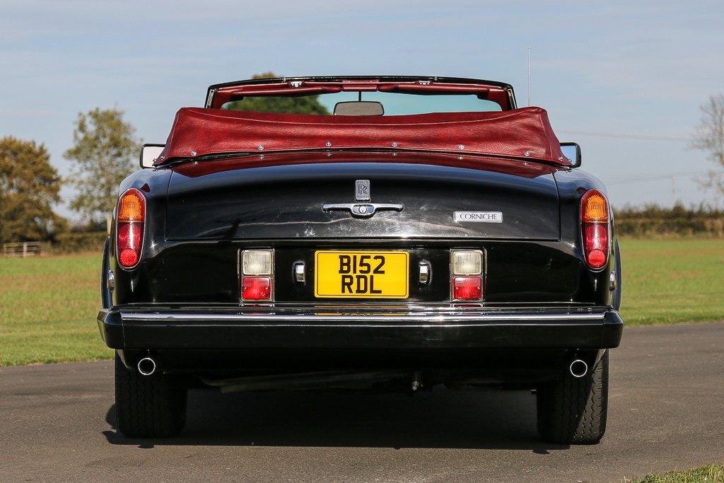 Rolls-Royce Corniche Convertible Frank Sinatra auction (5)