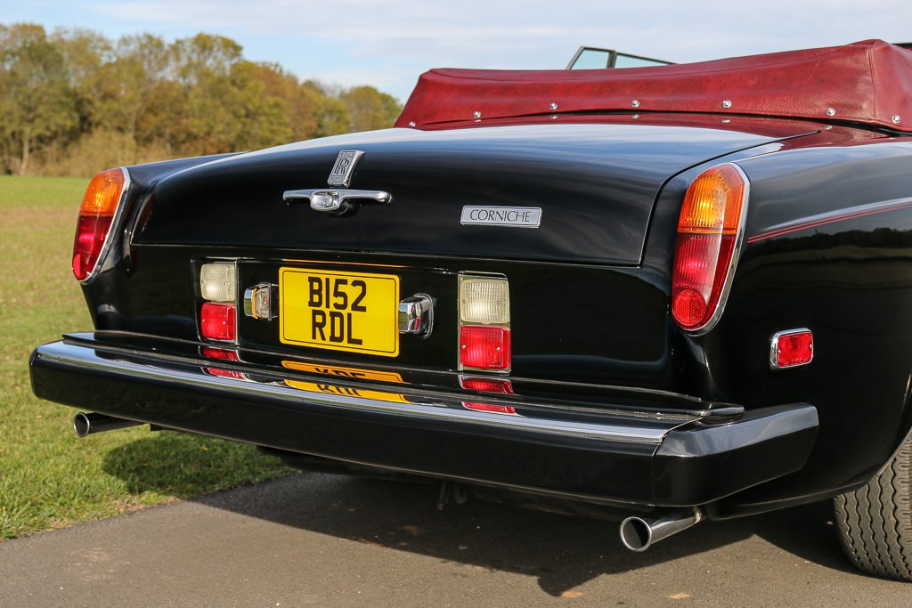 Rolls-Royce Corniche Convertible Frank Sinatra auction (6)