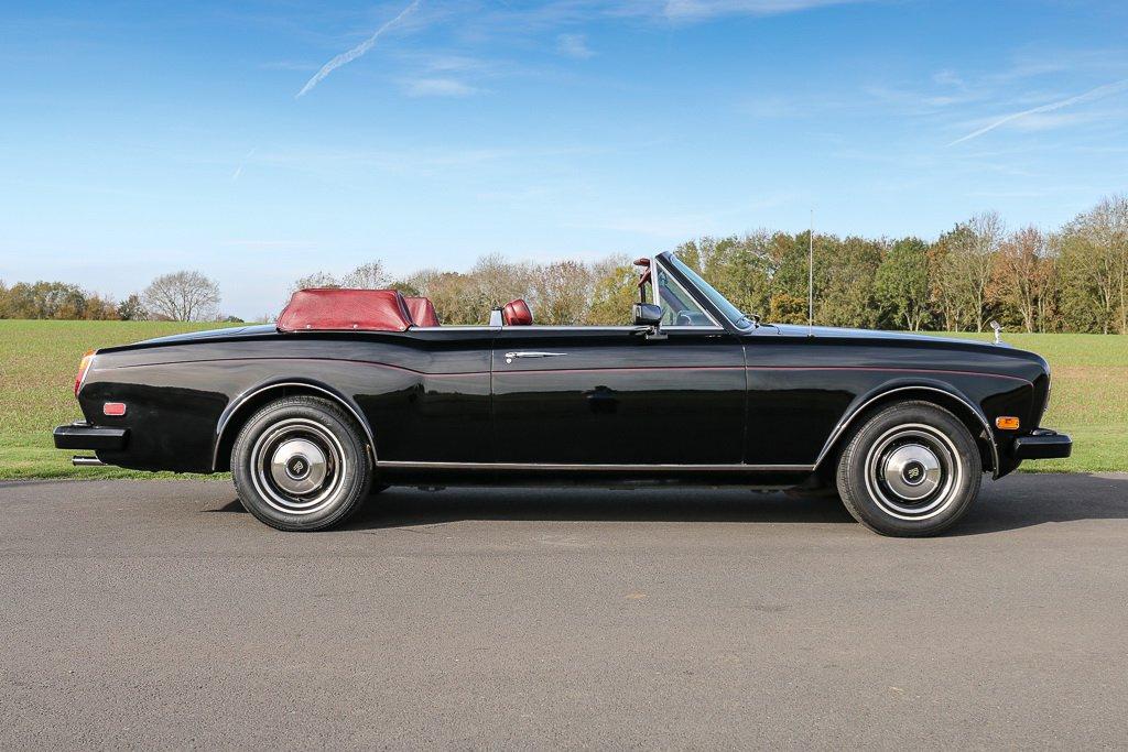 Rolls-Royce Corniche Convertible Frank Sinatra auction (7)