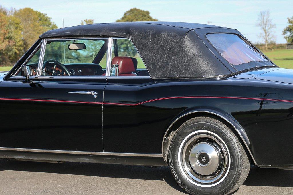 Rolls-Royce Corniche Convertible Frank Sinatra auction (8)