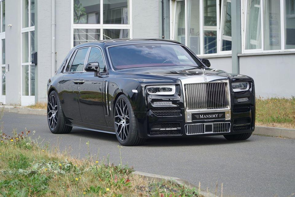Rolls-Royce Phantom tuned by Mansory (1)