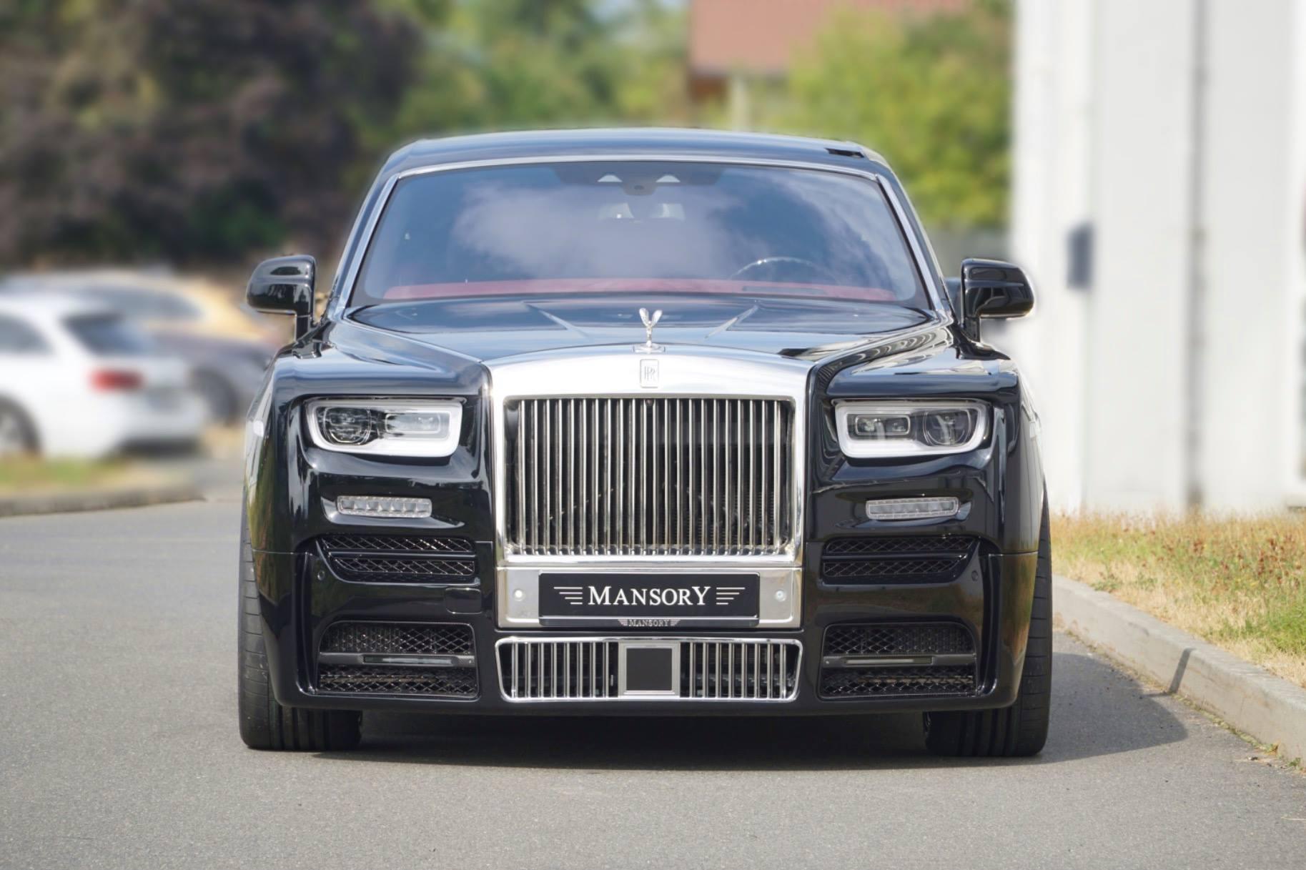 Rolls-Royce Phantom tuned by Mansory (2)