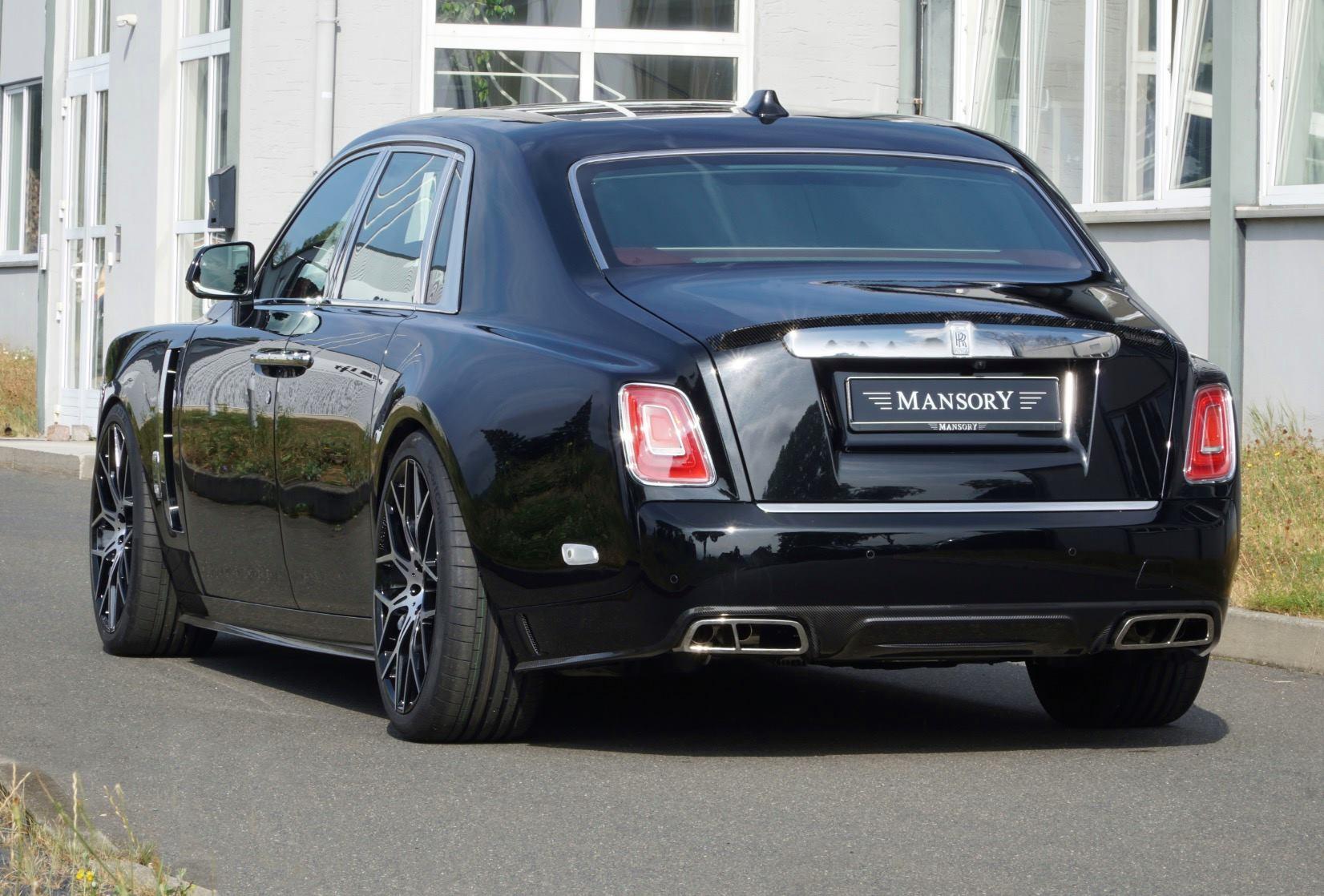 Rolls-Royce Phantom tuned by Mansory (4)