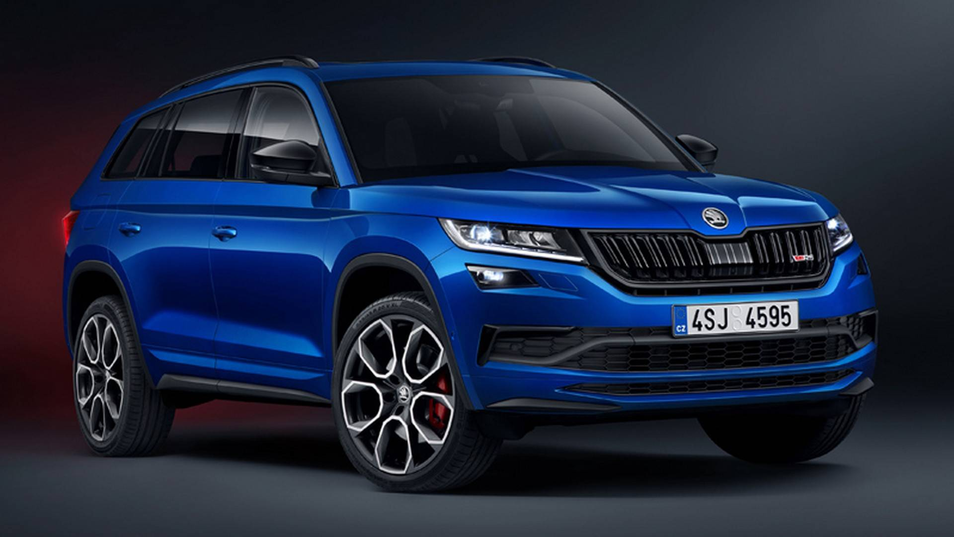 Skoda Kodiaq RS leaked photos (1)