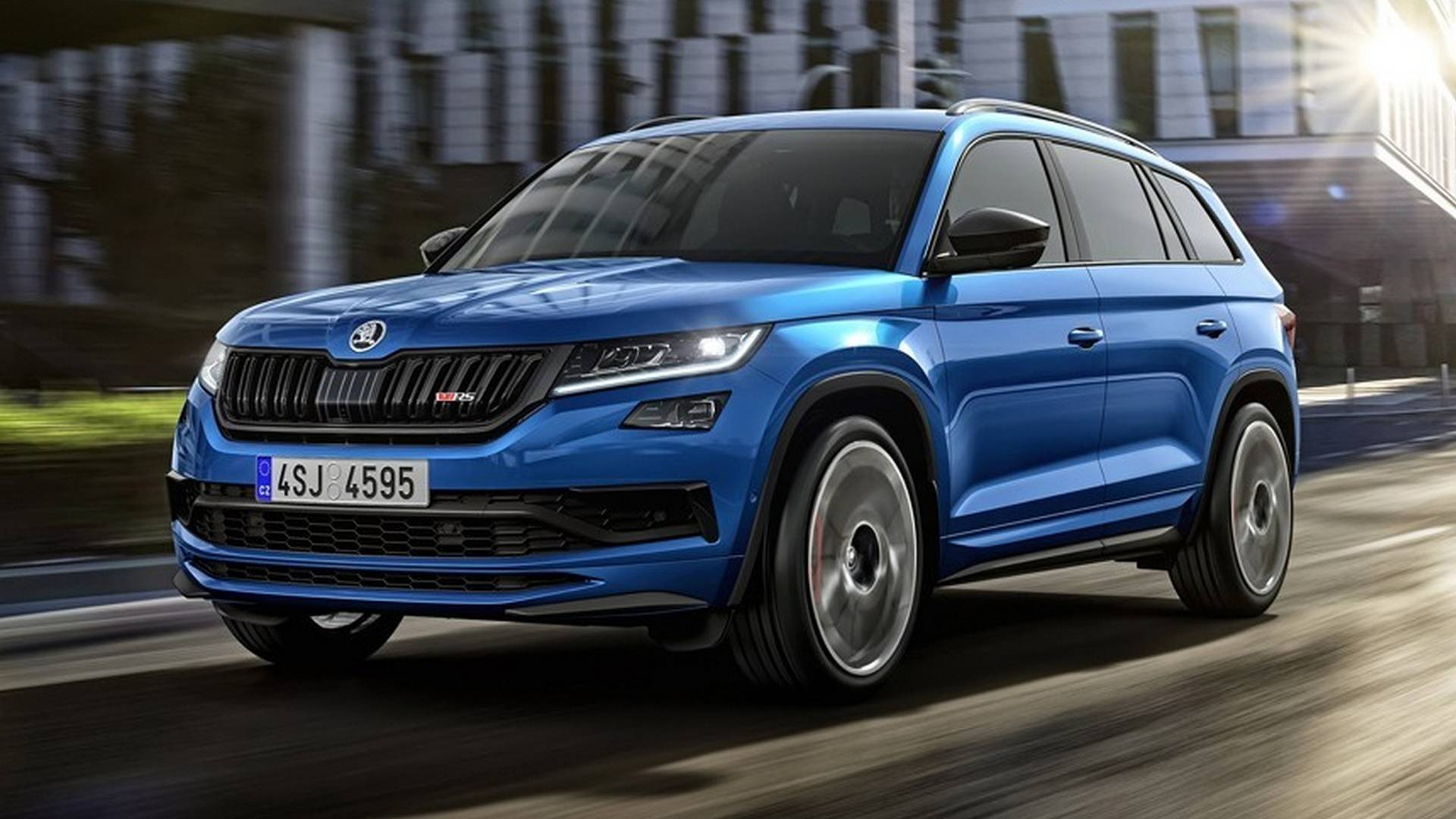 Skoda Kodiaq RS leaked photos (2)