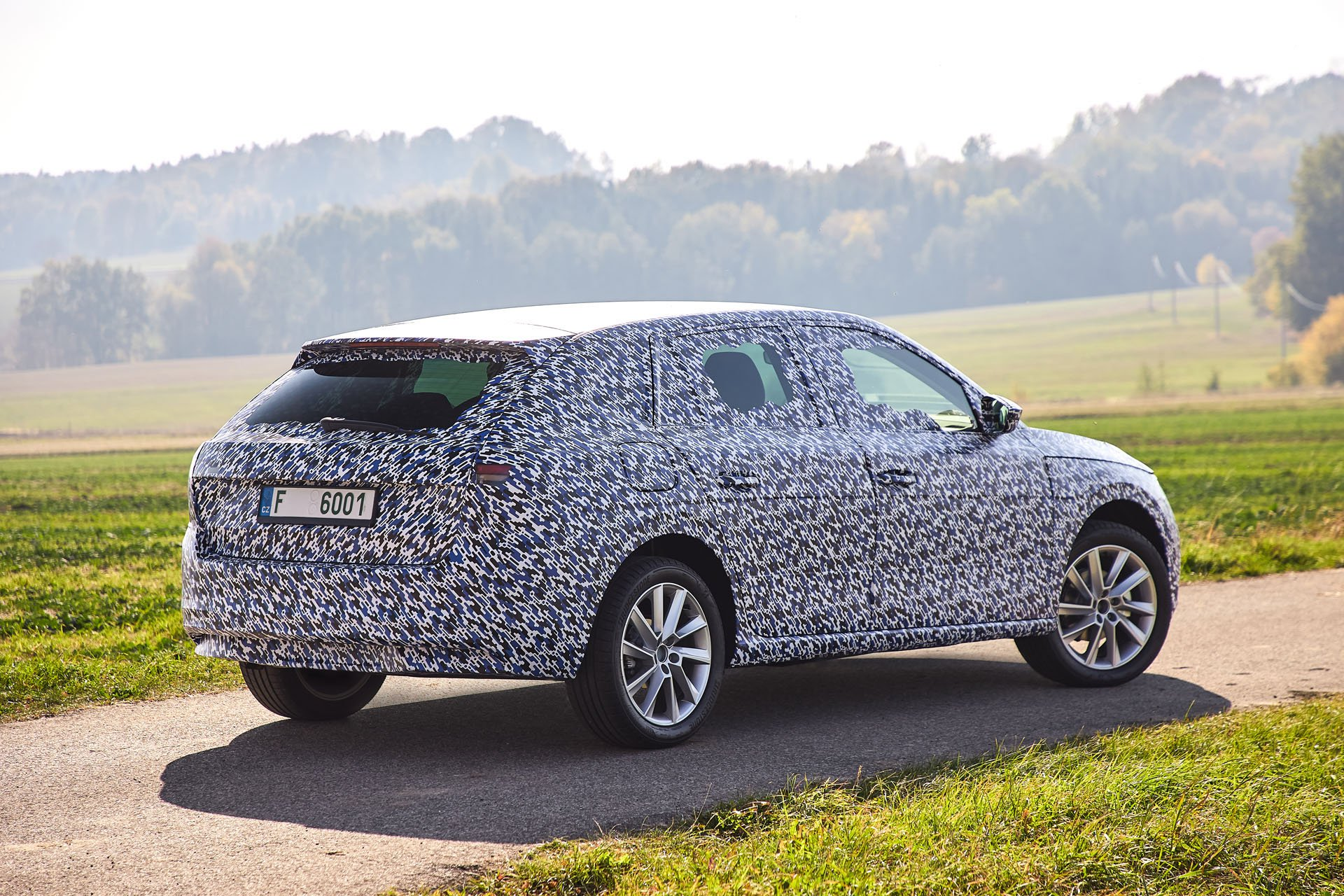Skoda Scala first spy photos (11)