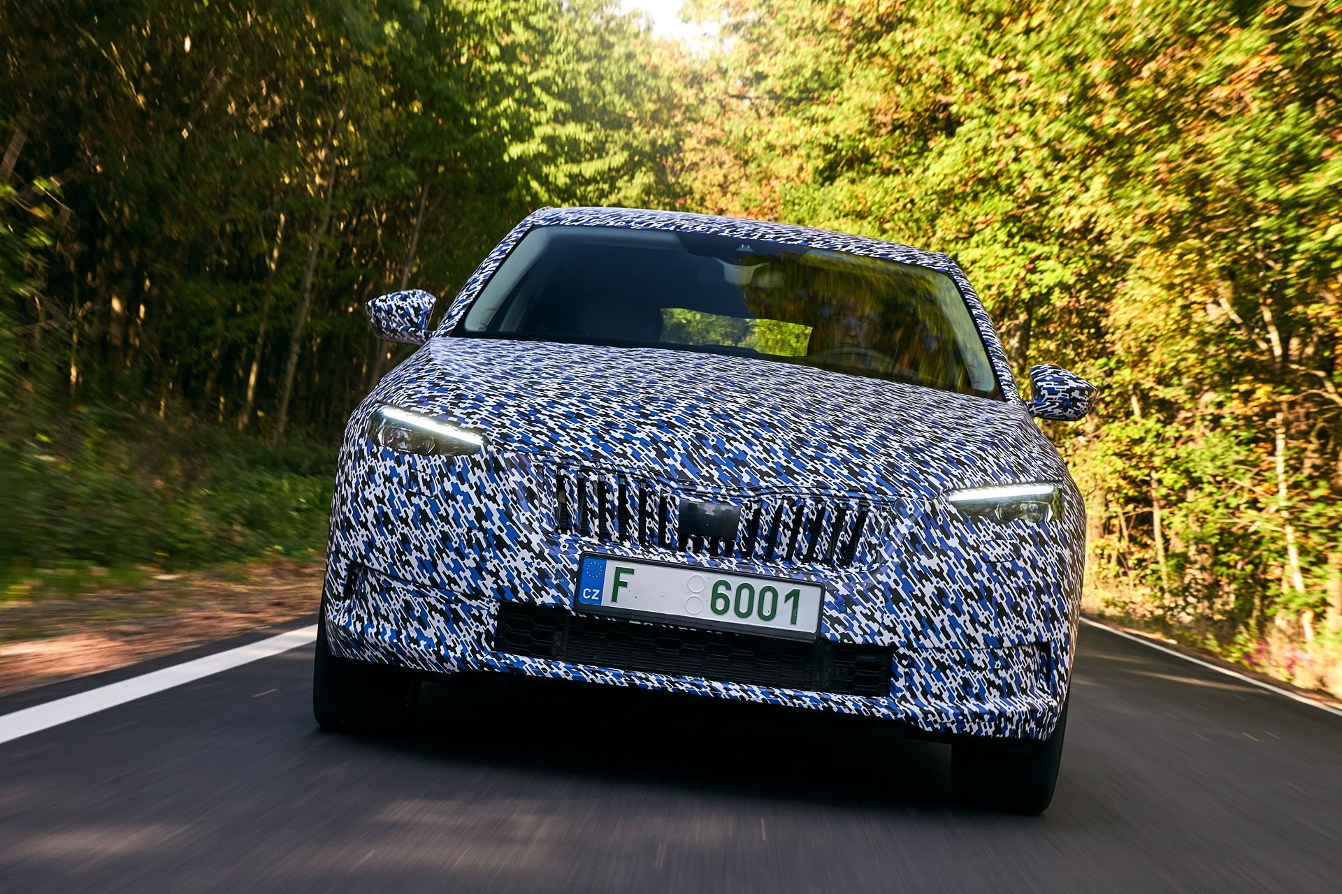Skoda Scala first spy photos (6)