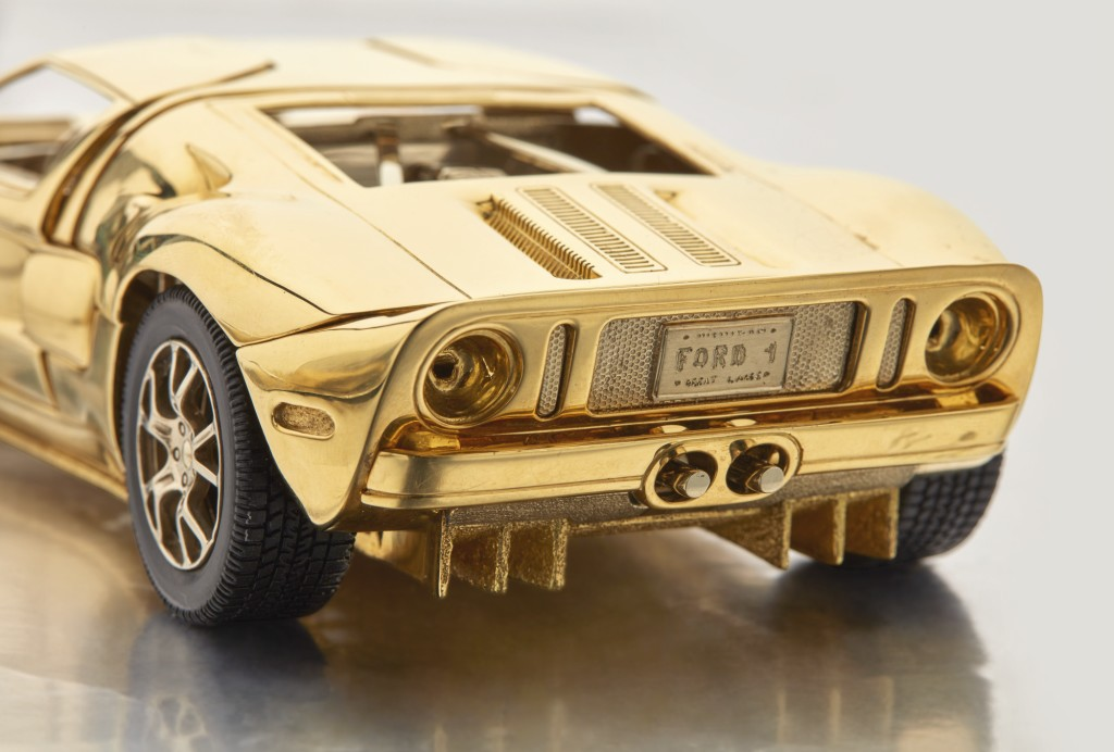 Solid Gold Ford GT (2)