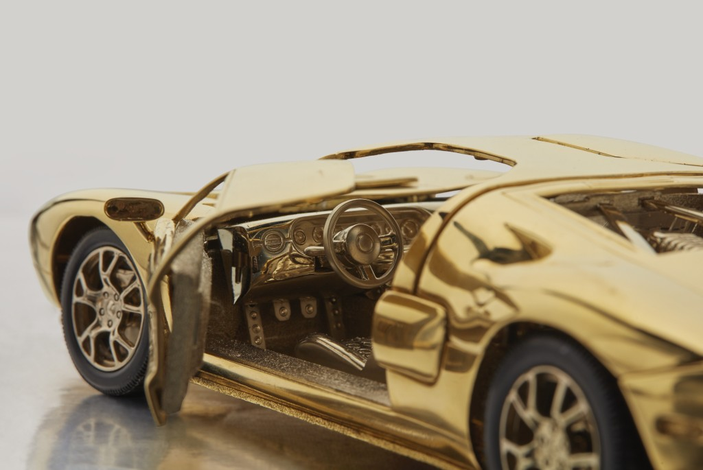 Solid Gold Ford GT (3)