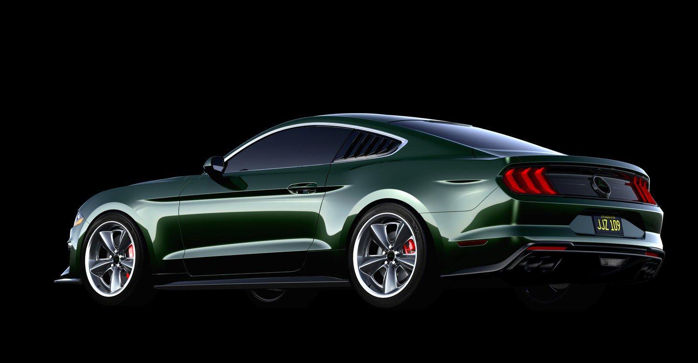 Steeda Mustang Bullitt Steve McQueen Edition 10