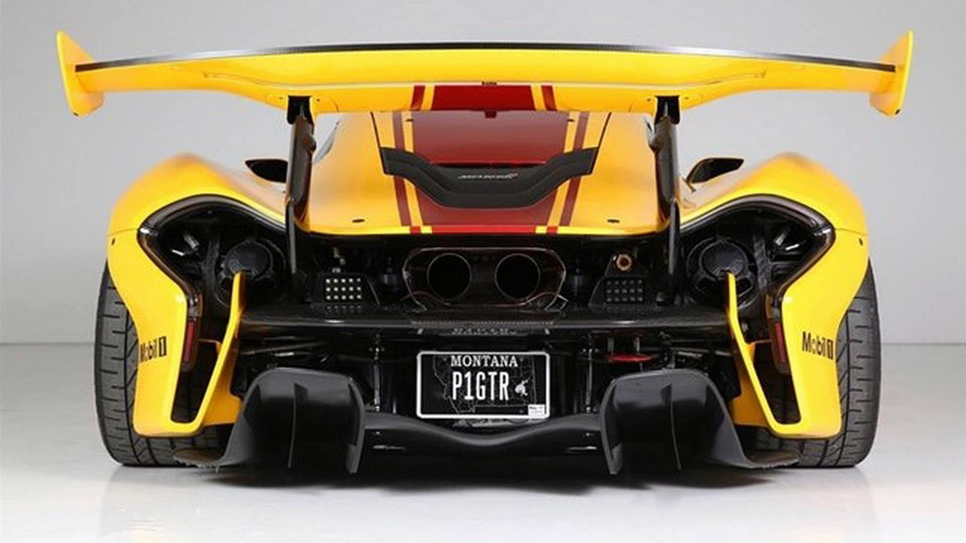 First McLaren P1 GTR built for sale (15)