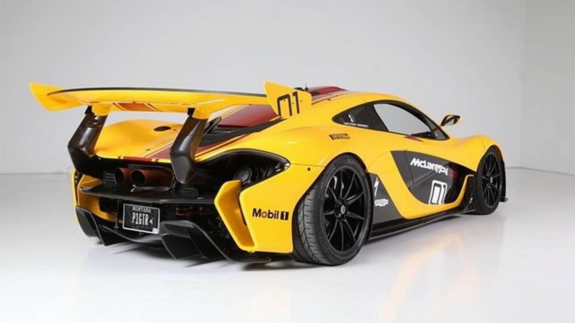 First McLaren P1 GTR built for sale (9)