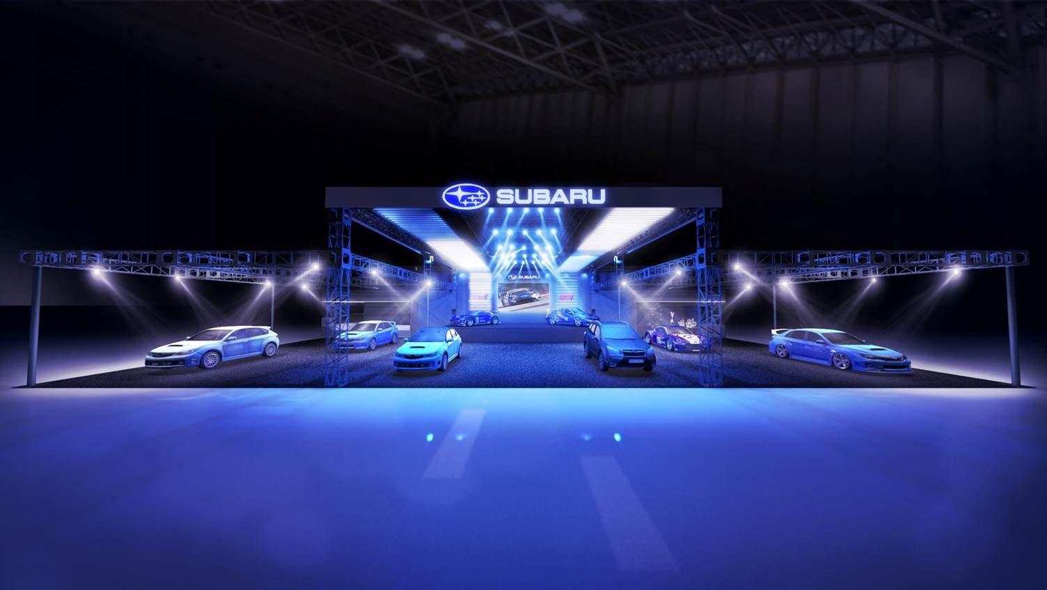Subaru Tokyo auto salon 2019 (1)