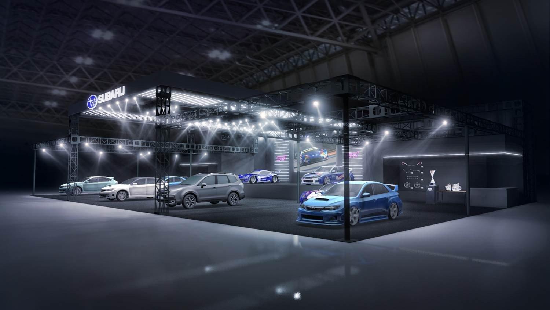 Subaru Tokyo auto salon 2019 (2)