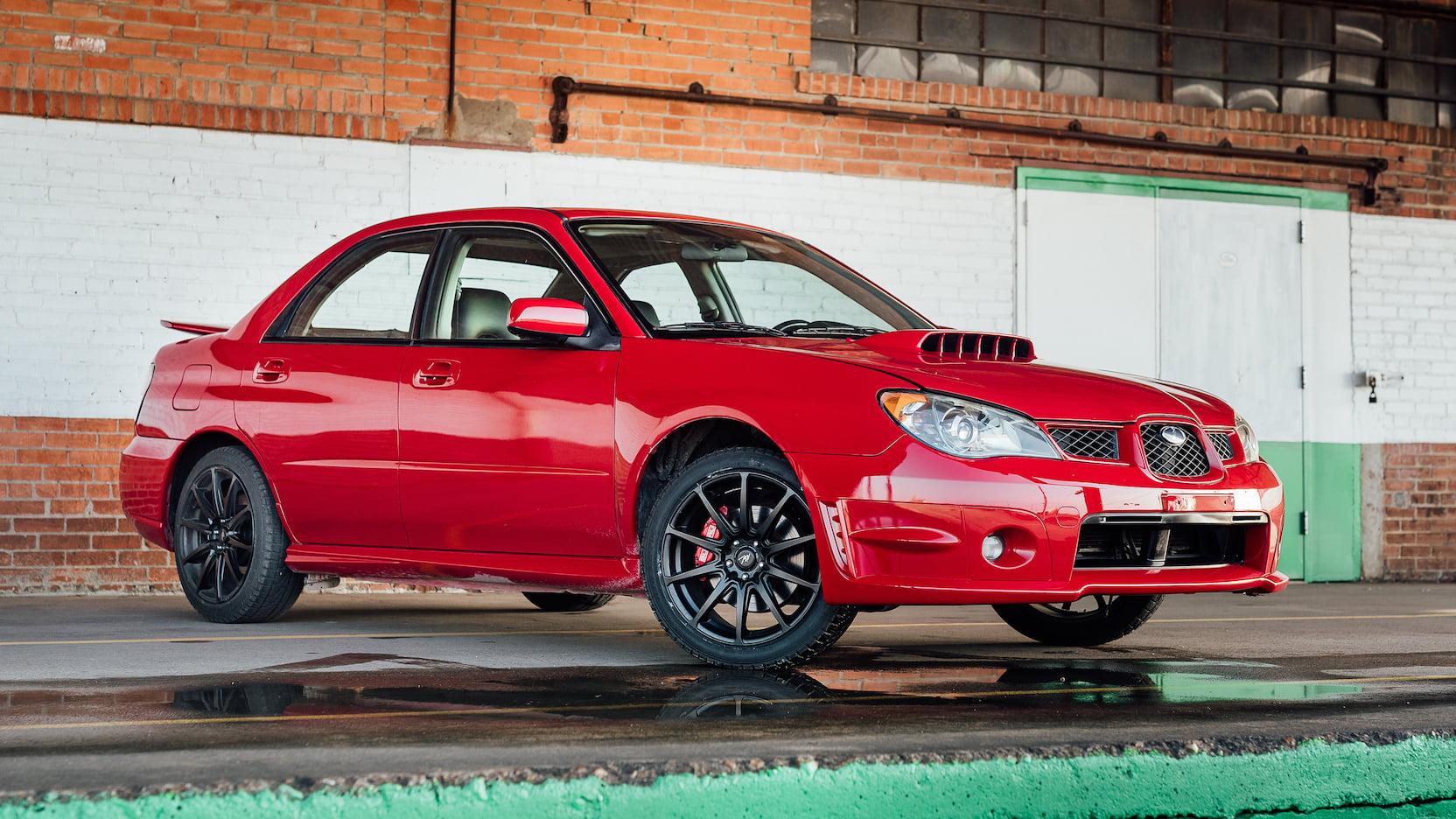 Subaru WRX Baby Driver (1)