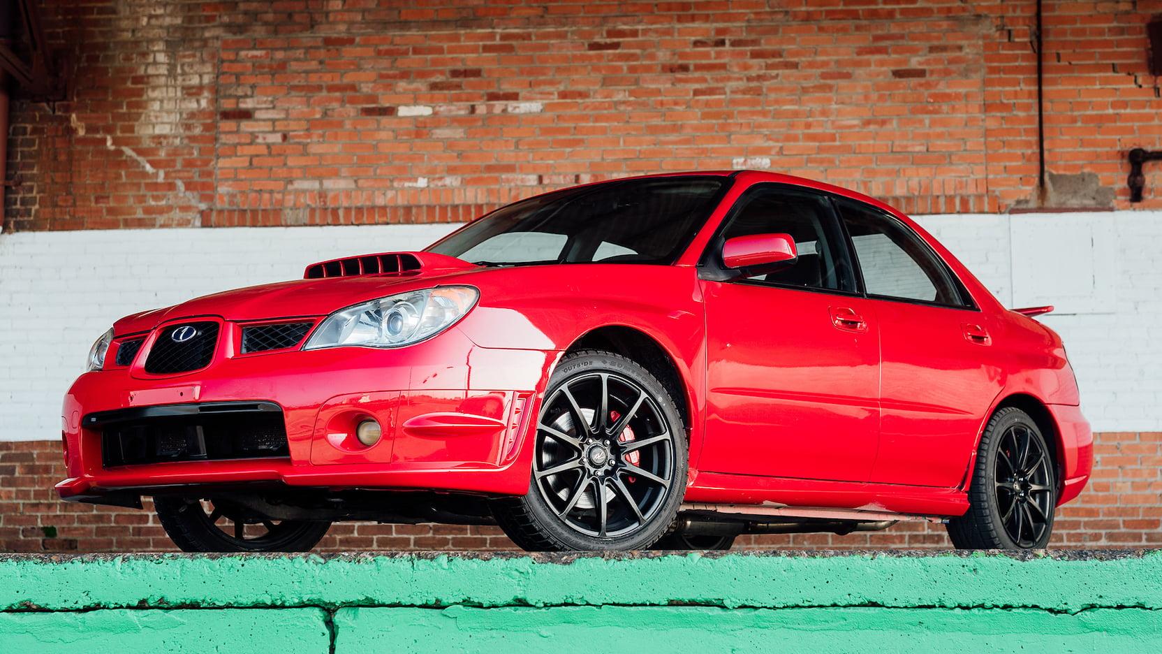 Subaru WRX Baby Driver (2)