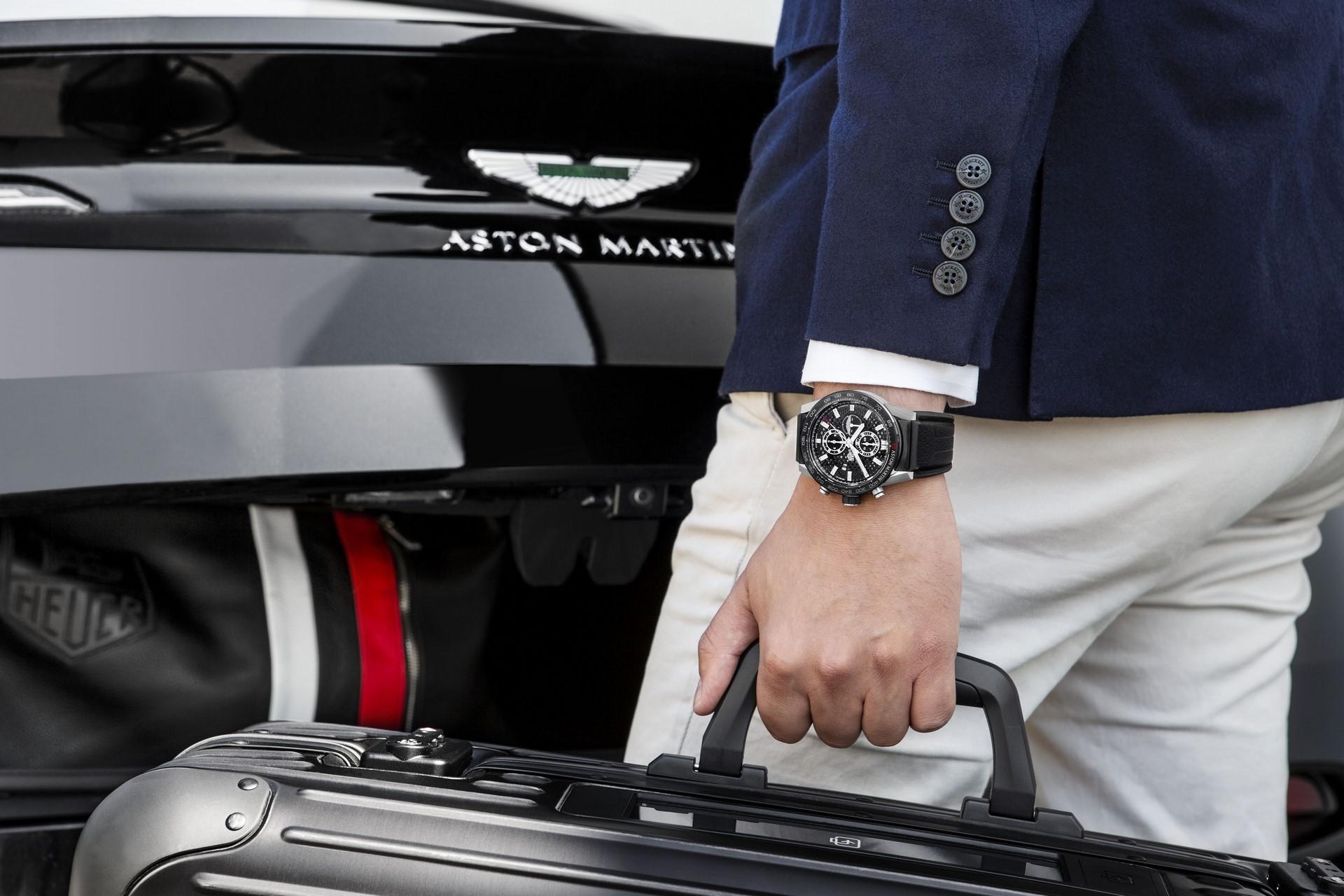 TAG Heuer Carrera 01 Aston Martin Special Edition (5)