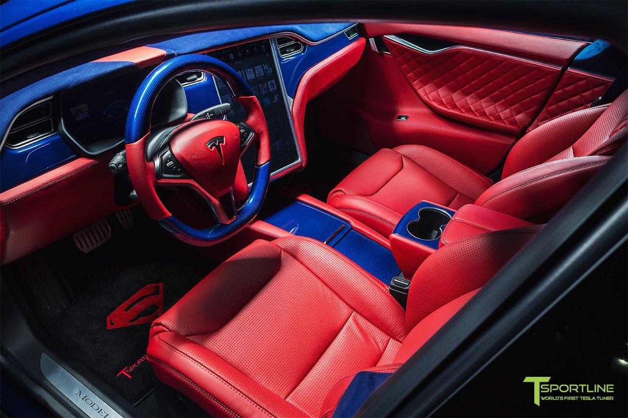 Tesla Model S for Superman by T Sportline (11)