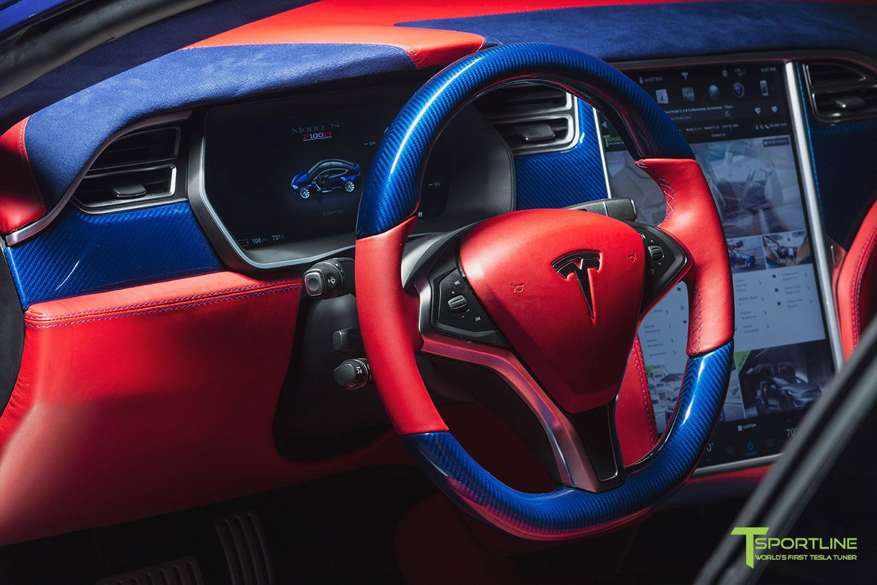 Tesla Model S for Superman by T Sportline (15)