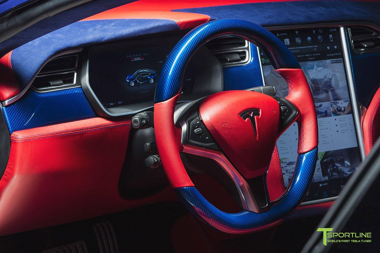 Tesla Model S for Superman by T Sportline (15)