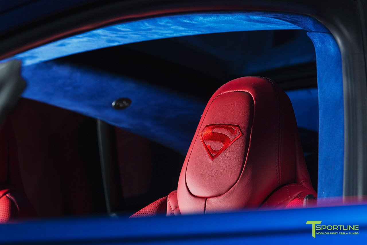 Tesla Model S for Superman by T Sportline (17)