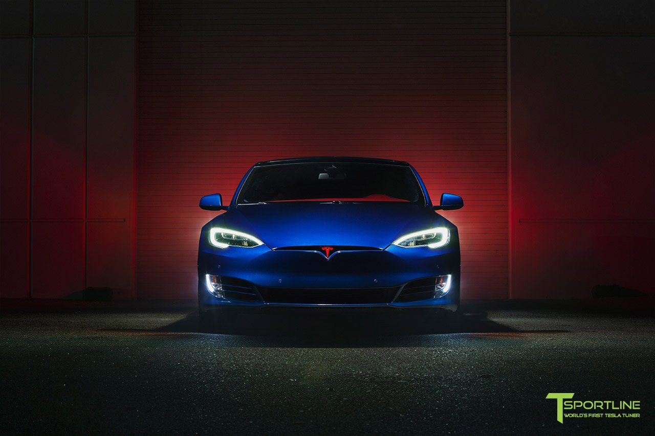 Tesla Model S for Superman by T Sportline (2)