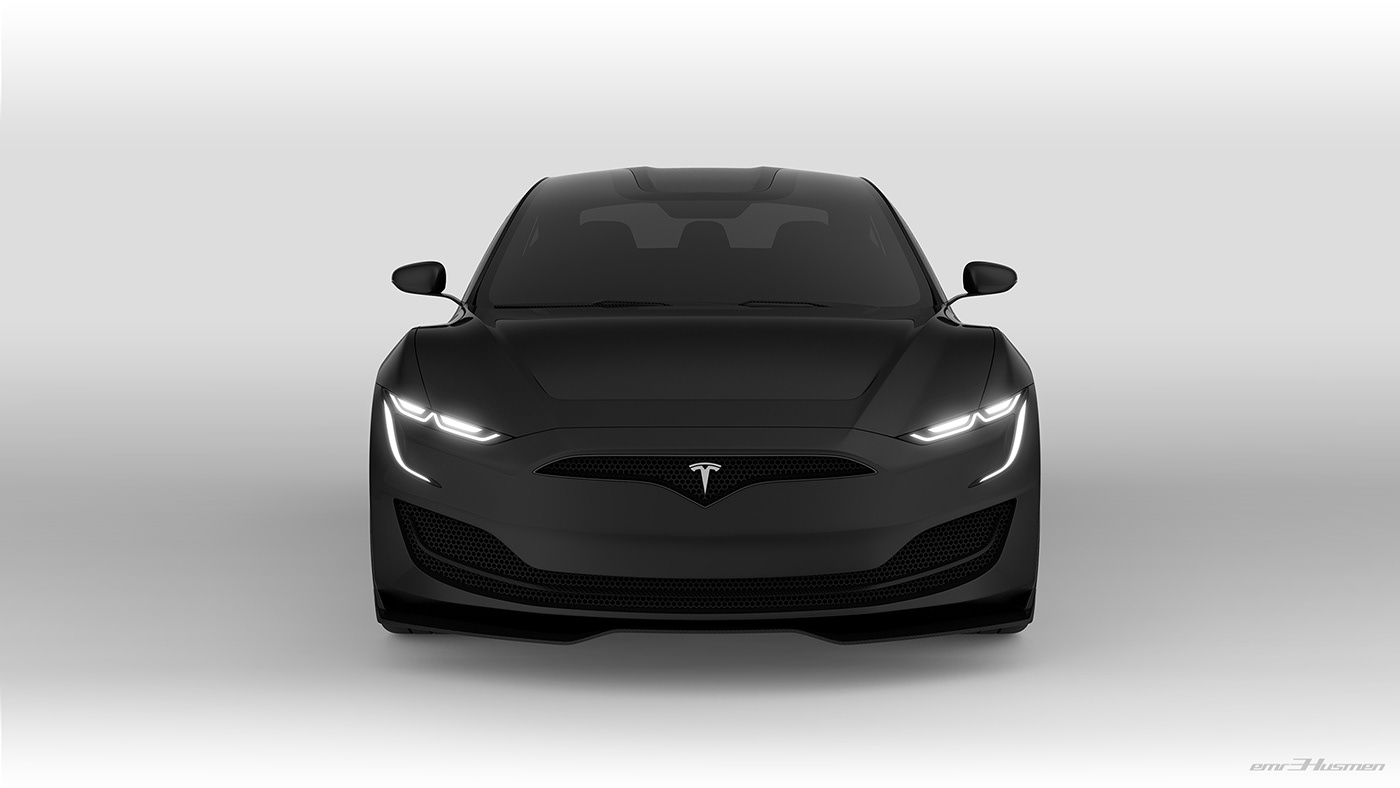 Tesla Model S Second generation renderings 13