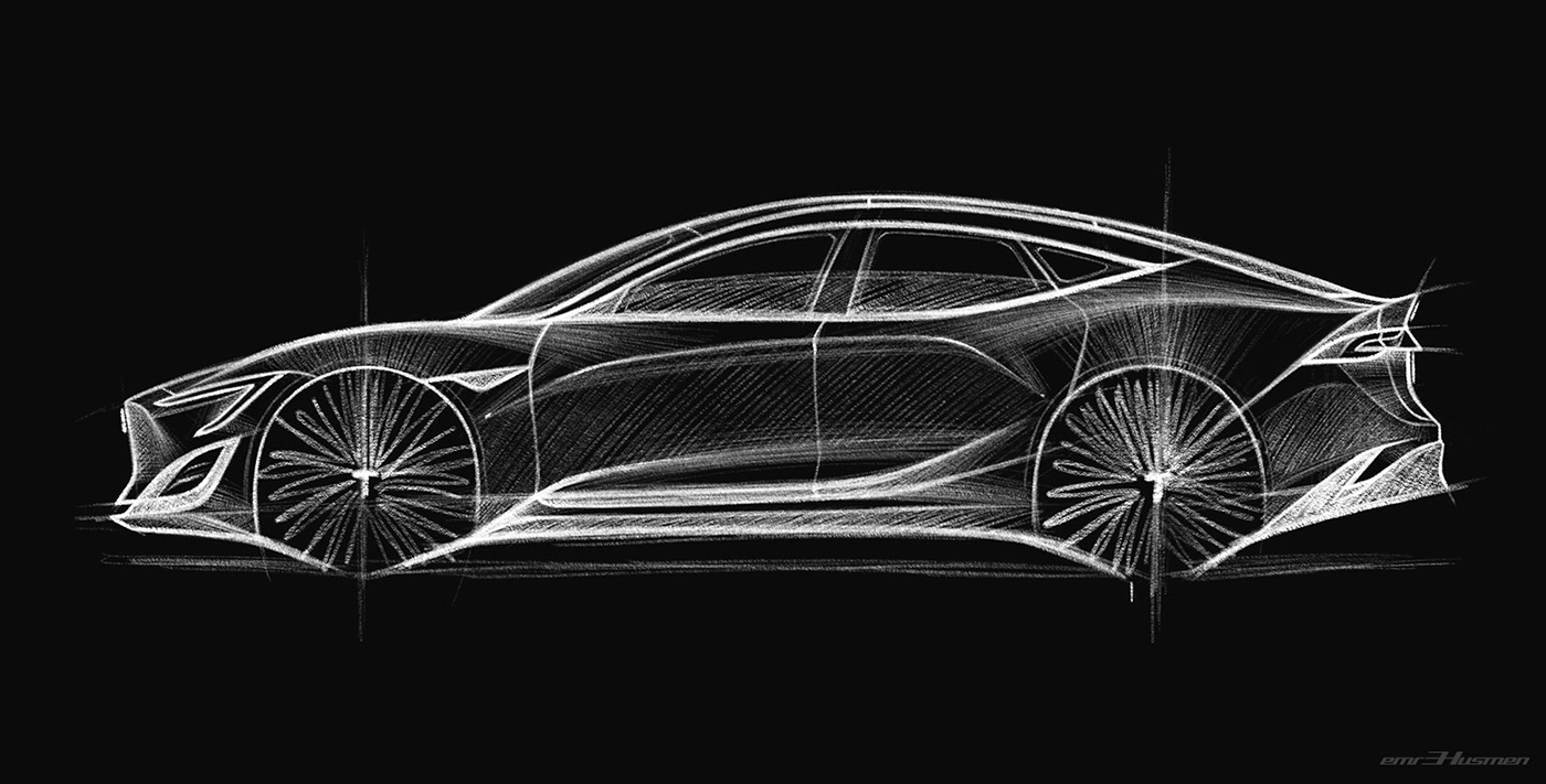 Tesla Model S Second generation renderings 17