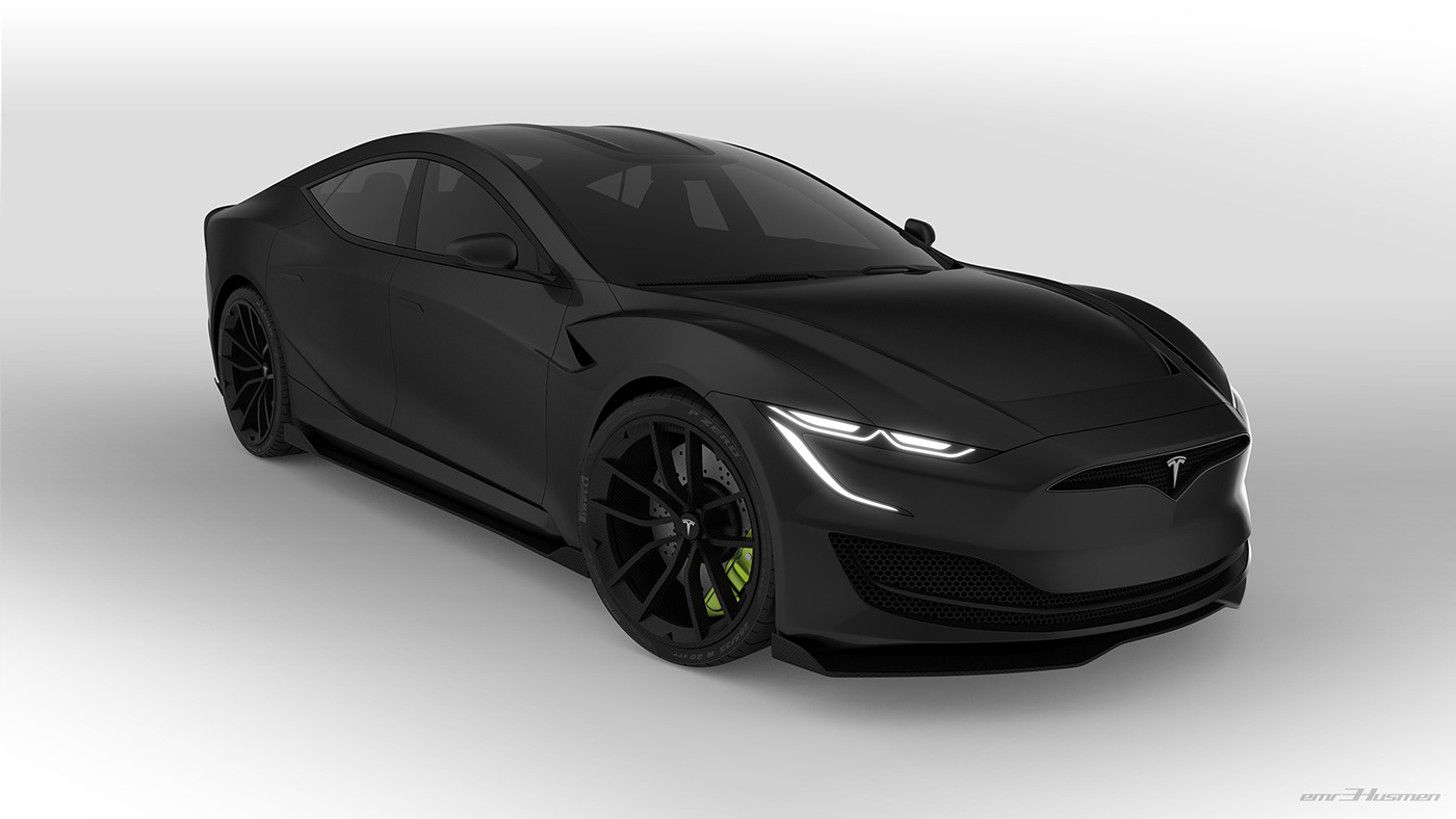 Tesla Model S Second generation renderings 21