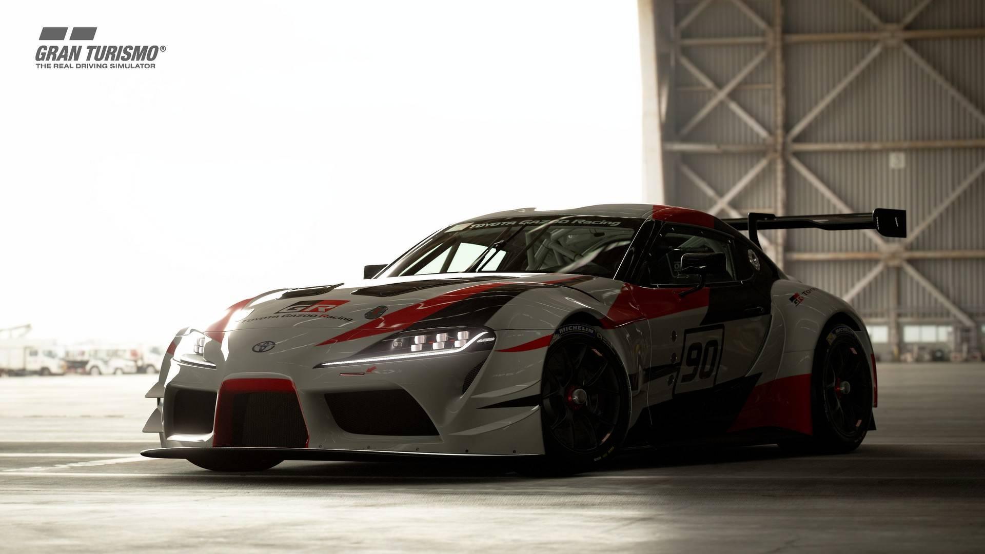 Toyota GR Supra Racing Concept in GranTurismo Sport_0001