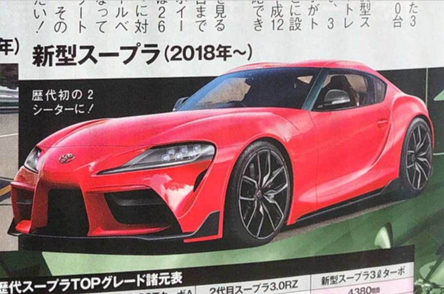 Toyota Supra renderings (1)