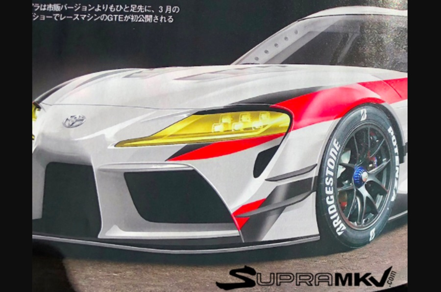 Toyota Supra renderings (4)