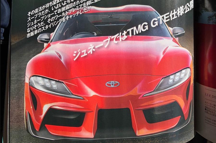 Toyota Supra renderings (6)