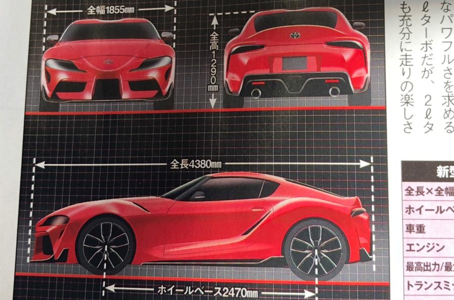 Toyota Supra renderings (7)