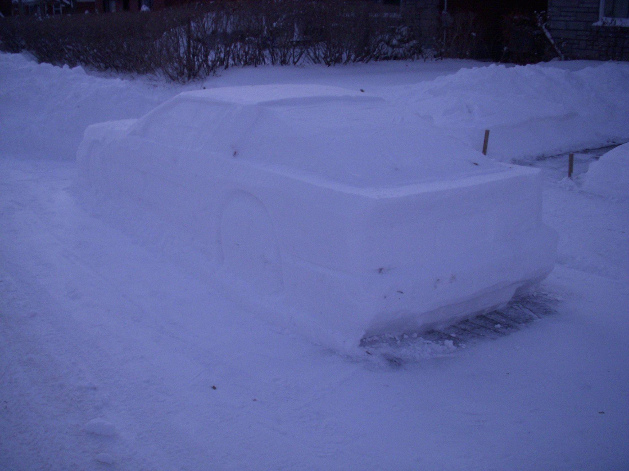 Toyota Supra snow (11)