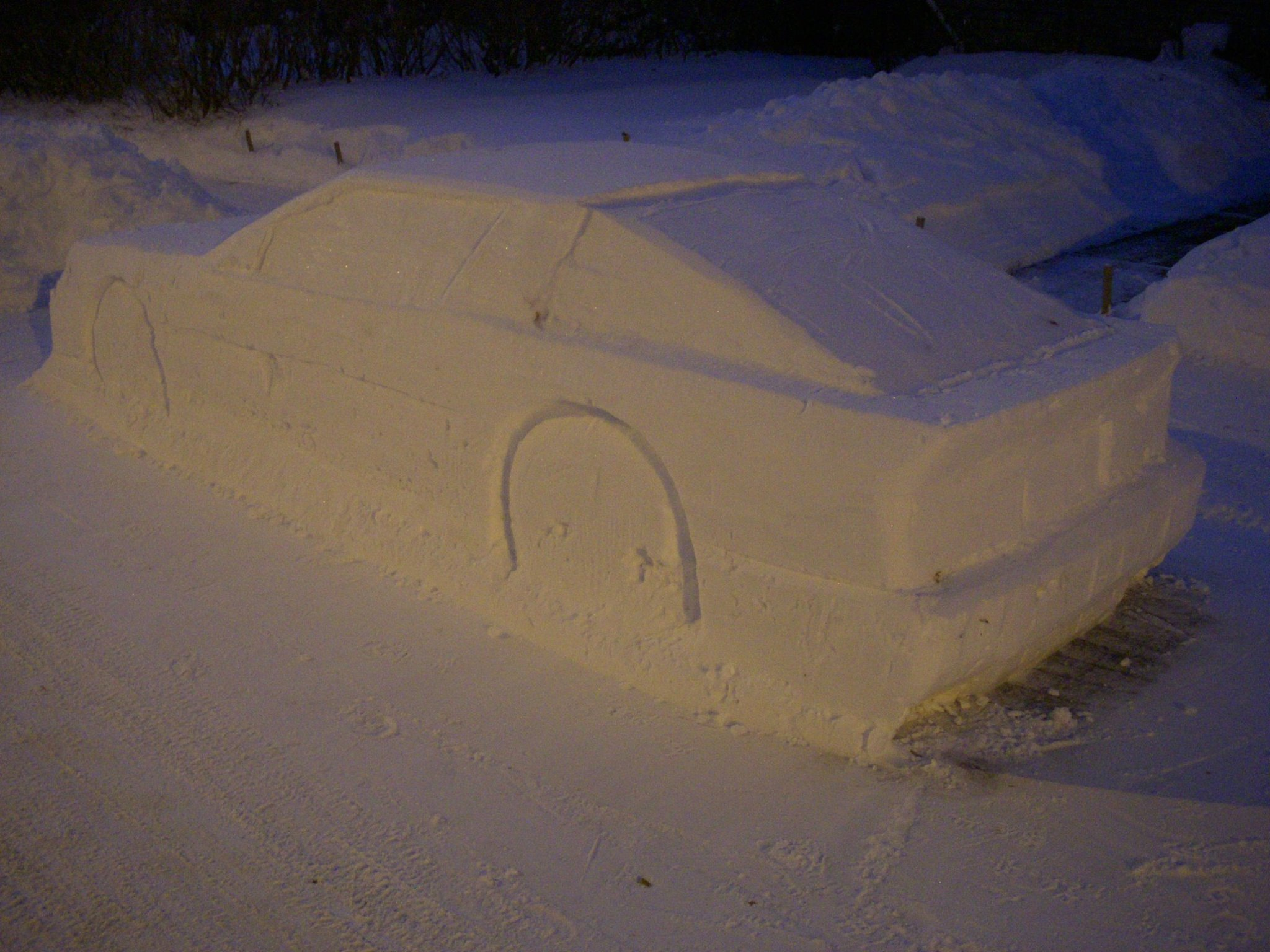 Toyota Supra snow (12)