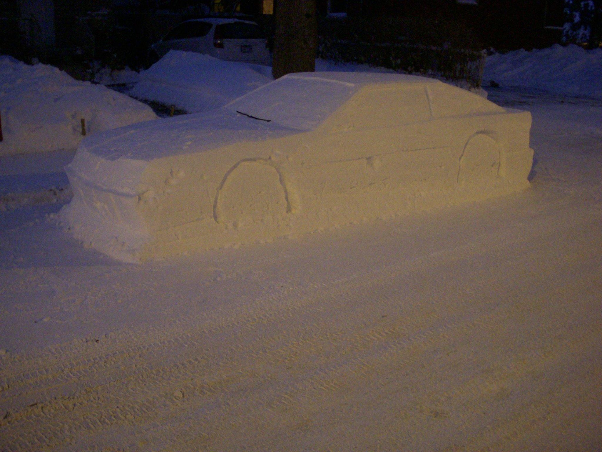 Toyota Supra snow (13)