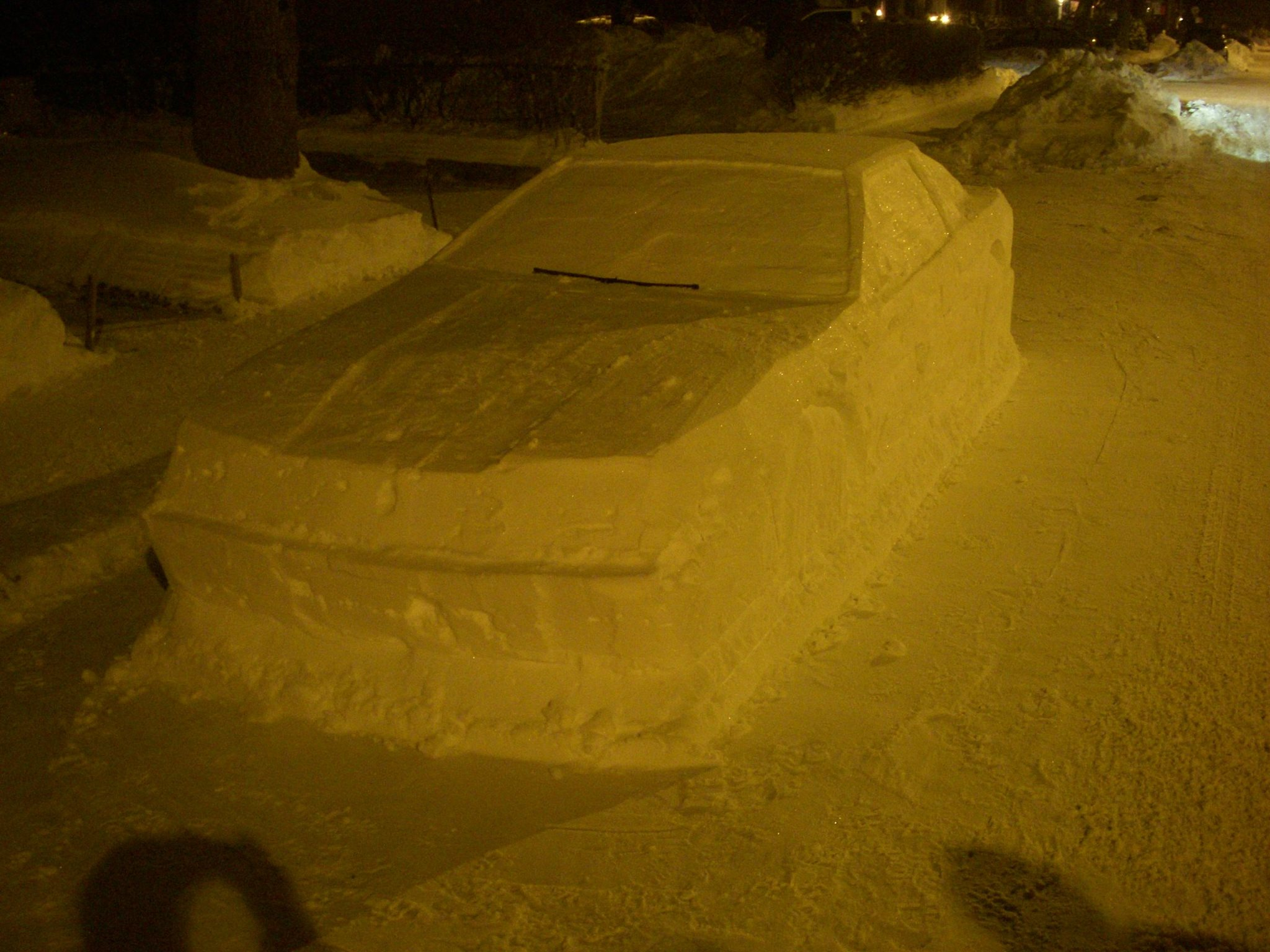 Toyota Supra snow (2)