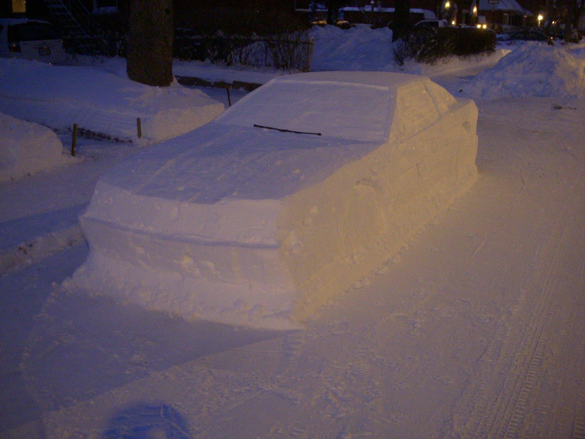 Toyota Supra snow (4)