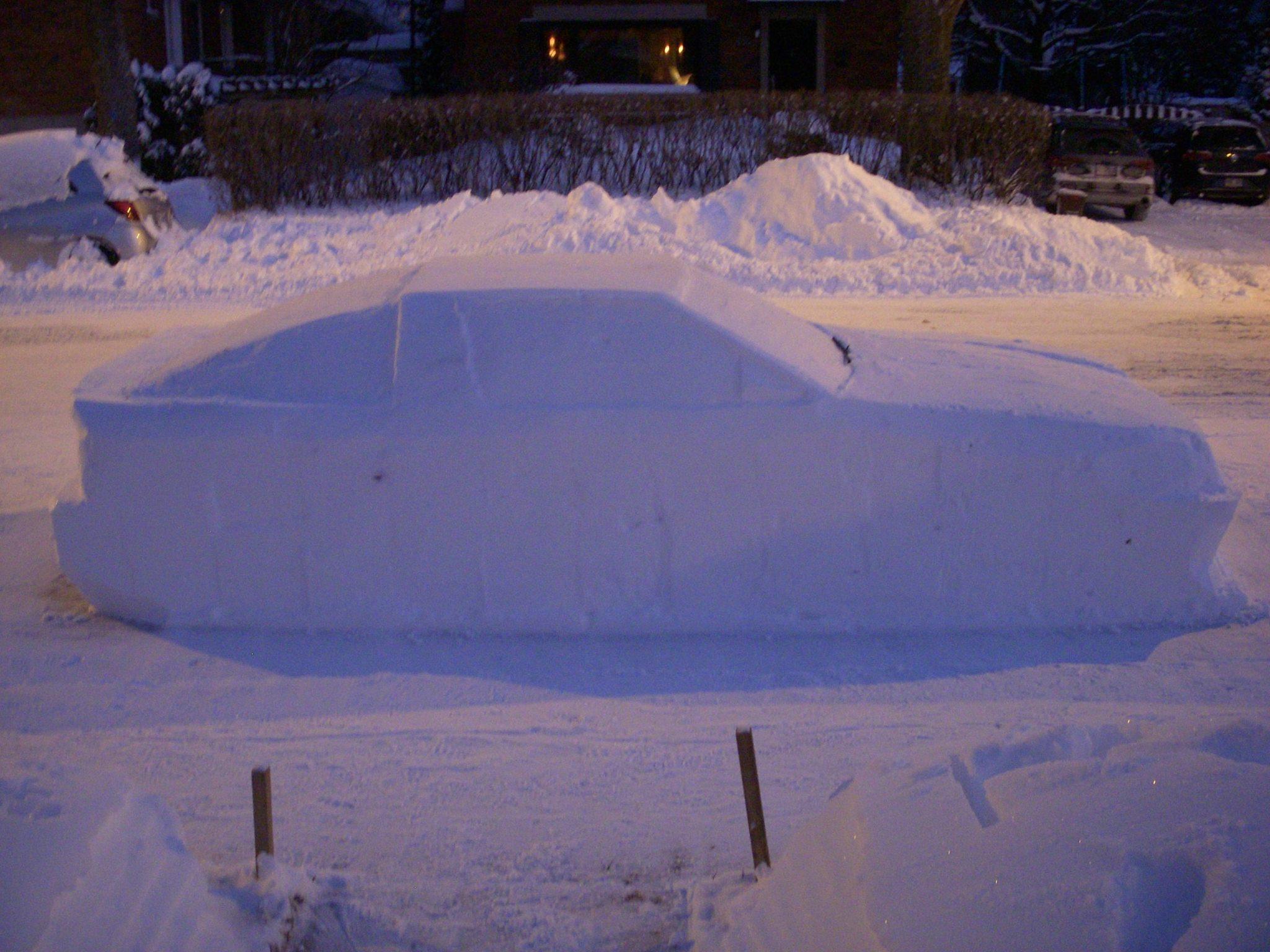 Toyota Supra snow (5)