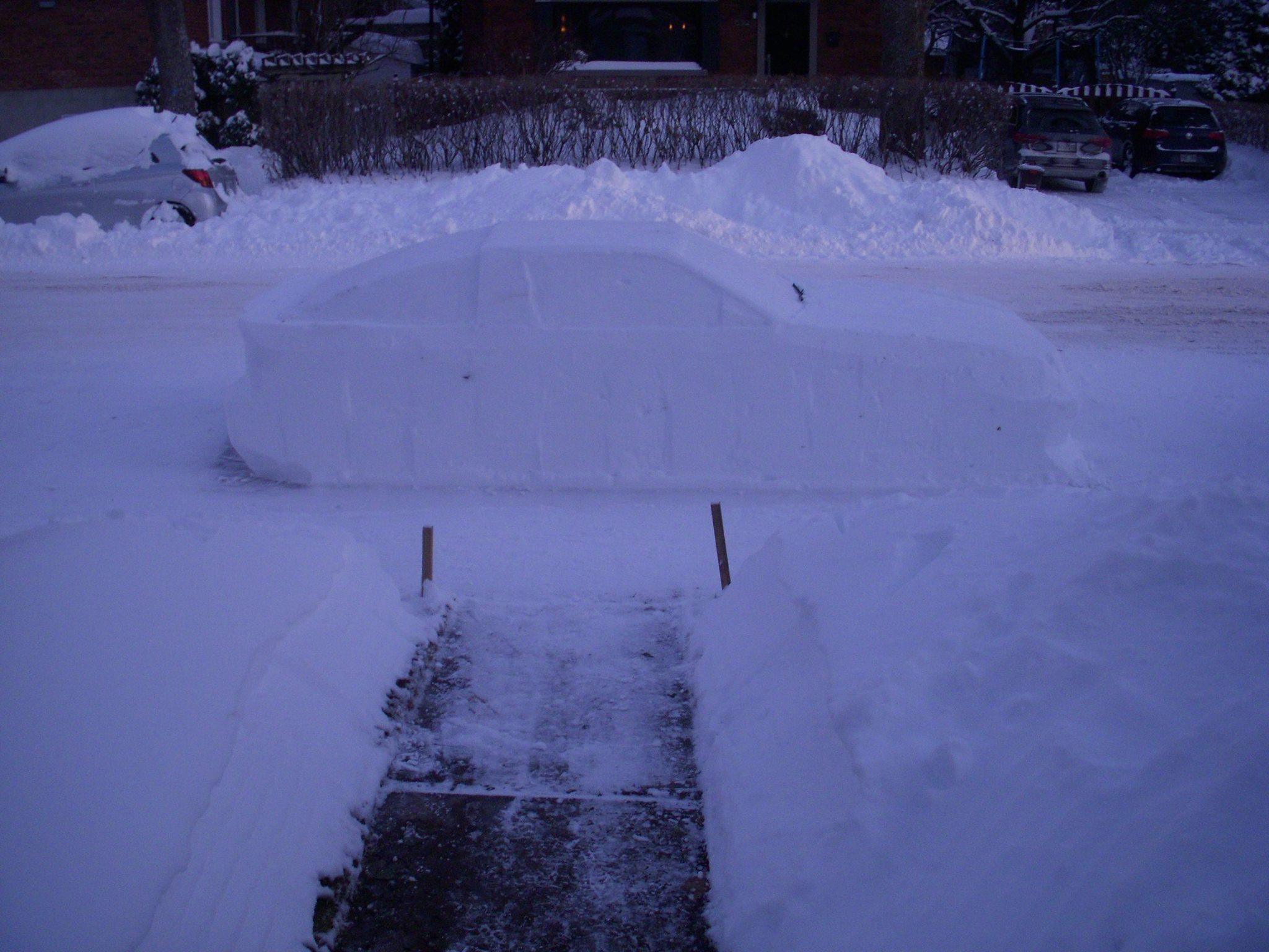 Toyota Supra snow (6)